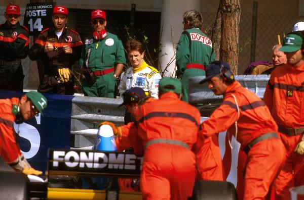 Monte Carlo, Monaco.8-11 May 1997.Jarno Trulli (Minardi M197 Hart). He slid off on lap 7.Ref-97 MON 13.World Copyright - LAT Photographic