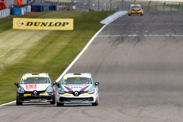 2015 Renault Clio Cup, Donington Park, 18th - 19th April 2015 Mark Howard (GBR) 20Ten Racing Renault Clio Cup  World copyright. Jakob Ebrey/LAT Photographic