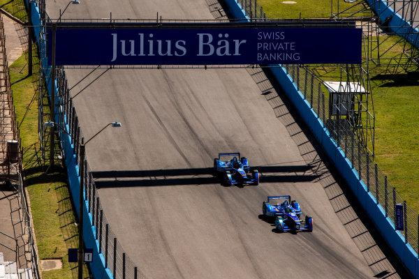 2015/2016 FIA Formula E Championship. Testing, Punta del Este, Uruguay. Sunday 20 December 2015. Simona De Silvestro (SUI), Andretti - Spark SRT_01E and Robin Frijns (NLD), Andretti - Spark SRT_01E. Photo: Zak Mauger/LAT/Formula E ref: Digital Image _L0U9376
