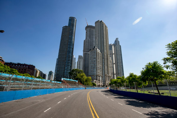 2016/2017 FIA Formula E Championship. Buenos Aires ePrix, Buenos Aires, Argentina. Friday 17 February 2017. A view of the track. Photo: Zak Mauger/LAT/Formula E ref: Digital Image _L0U8033