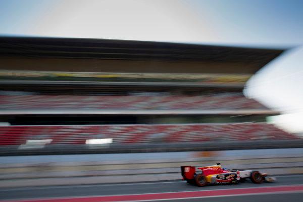 Circuit de Barcelona Catalunya, Barcelona, Spain. Tuesday 14 March 2017. Ralph Boschung (SUI, Campos Racing). Action.  Photo: Alastair Staley/FIA Formula 2 ref: Digital Image 580A0787