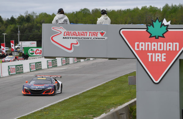 Pirelli World Challenge Victoria Day SpeedFest Weekend Canadian Tire Motorsport Park, Mosport, ON CAN Friday 19 May 2017 Peter Kox/ Mark Wilkins World Copyright: Richard Dole/LAT Images ref: Digital Image RD_CTMP_PWC17024