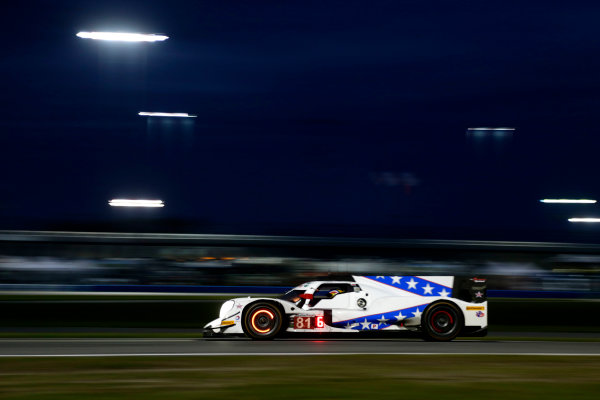 2017 Rolex 24 Hours. Daytona, Florida, USA Saturday 28 January 2017. #81 DragonSpeed ORECA 07: Henrik Hedman, Nicolas Lapierre, Ben Hanley, Loic Duval World Copyright: Alexander Trienitz/LAT Images ref: Digital Image 2017-24h-Daytona-AT1-3843