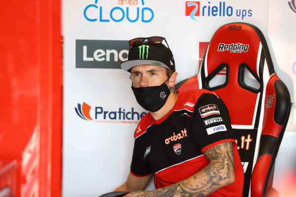 Scott Redding, Aruba.It Racing - Ducati sits out the first 20 minutes.