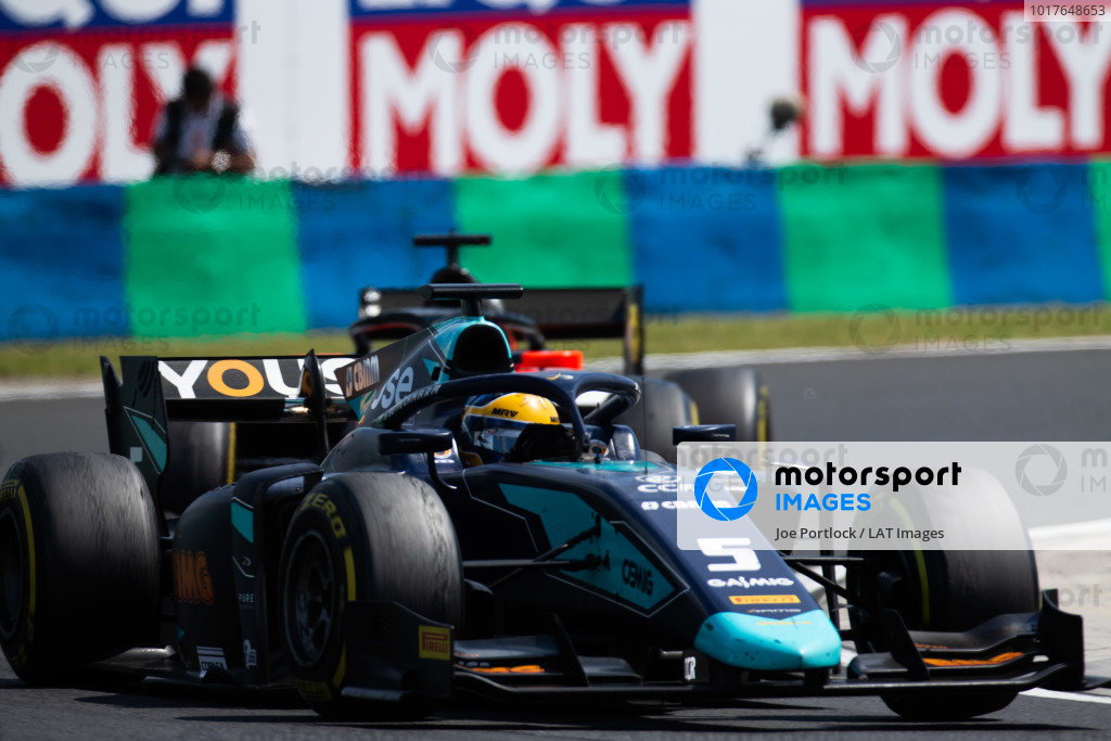 HUNGARORING, HUNGARY - AUGUST 04: Sergio Sette Camara (BRA, DAMS) during the Hungaroring at Hungaroring on August 04, 2019 in Hungaroring, Hungary. (Photo by Joe Portlock / LAT Images / FIA F2 Championship)