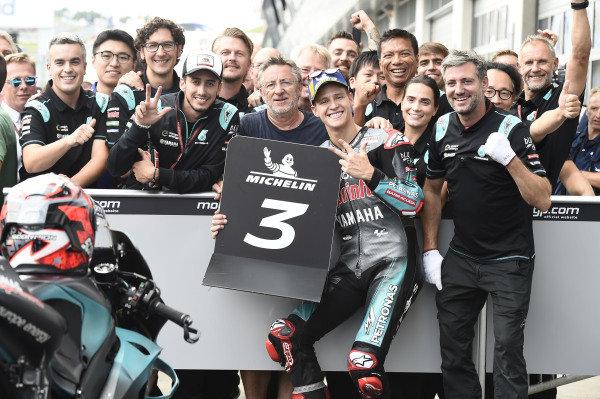 Third place Fabio Quartararo, Petronas Yamaha SRT