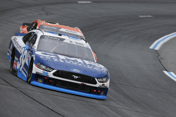 #39: Ryan Sieg, RSS Racing, Ford Mustang CMR Construction and Roofing / A-Game, #1: Josh Berry, JR Motorsports, Chevrolet Camaro PFJ Spicy Chicken Sandwich