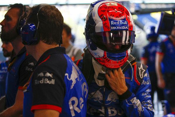 Pierre Gasly, Scuderia Toro Rosso.