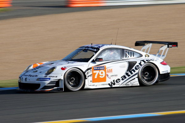 Cooper MacNeil (USA) / Jeroen Bleekemolen (NED) ProSpeed Competition Porsche 911 GT3-RSR. Le Mans 24 Hours, Le Mans, France, 12-14 June 2014.