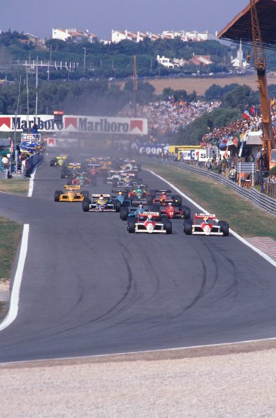 1988 Portuguese Grand Prix.