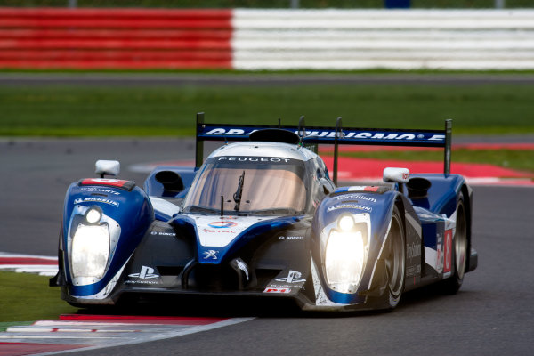 10th/11th&12th September 2011Silverstone, Northants.Sarrazin / Montagny (#8 Peugeot Sport Total Peugeot 908, LMP1), Action.Image Copyright Malcolm Griffiths/LATDigital Image _H0Y2864 jpg